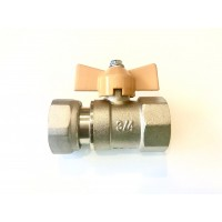 "Swivel Gas Valve ¾"" Female"
